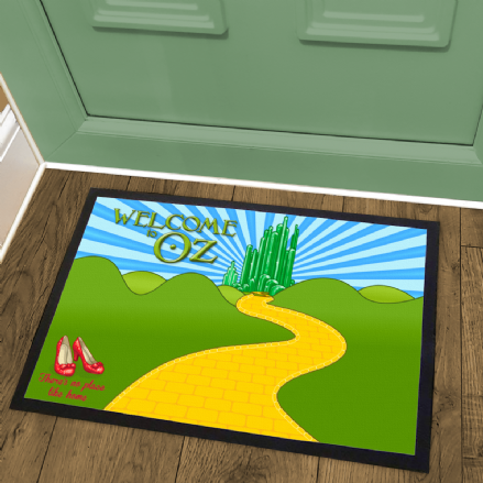 Wizard of Oz No Place Like Home Inspired Welcome Mat Doormat